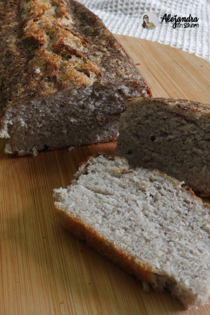 Pan de molde sin gluten