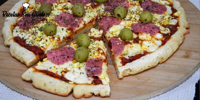 Pizzas sin gluten