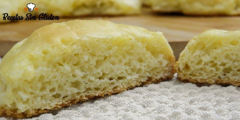 Pan sin gluten esponjoso