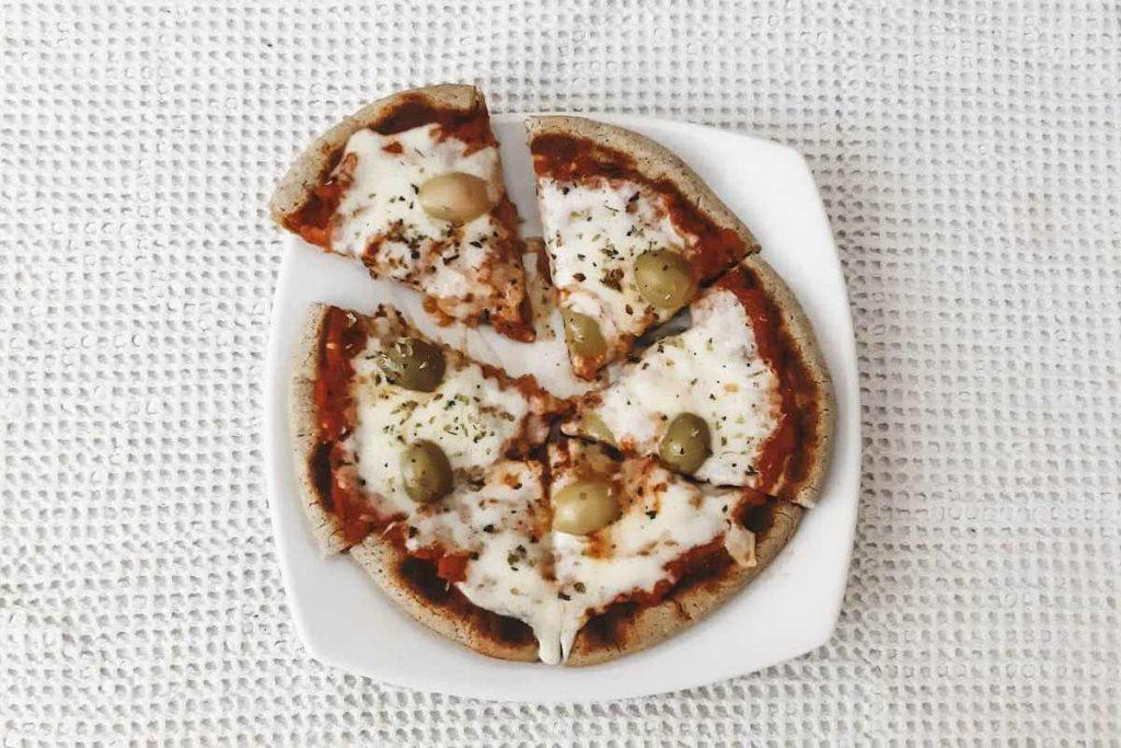 pizza sin horno y sin gluten
