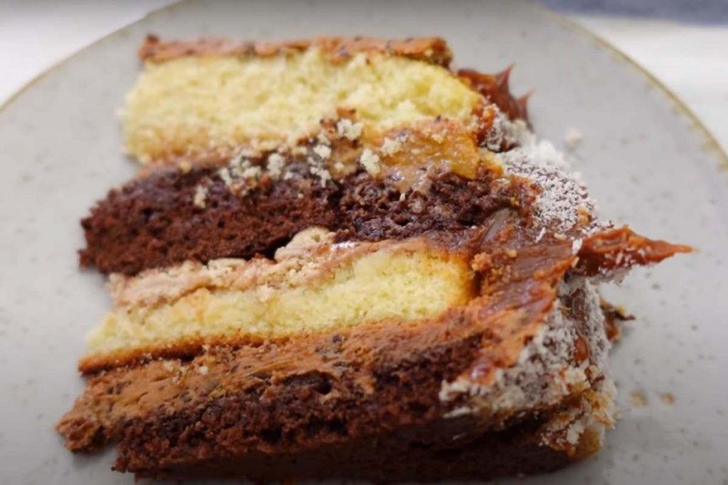 torta sin tacc y sin horno