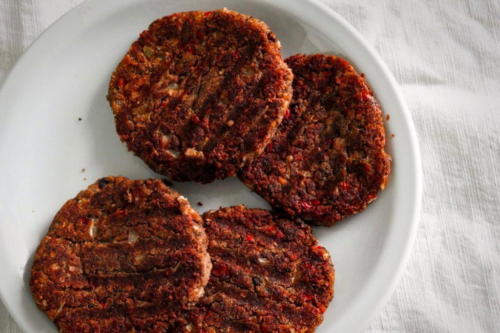 hamburguesas de legumbres